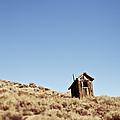 Dilapidated Outhouse On Hillside by Eddy Joaquim