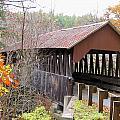 Dingleton Hill Covered Bridge by Wayne Toutaint