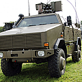 Dingo II Vehicle Of The Belgian Army by Luc De Jaeger