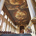 Dining Hall At Royal Naval College by Anna Villarreal Garbis