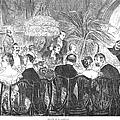 Dinner Party, 1885 by Granger