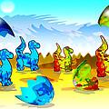 Dinosaurs by Victoria Regueira