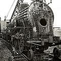 Disassembled Baldwin Locomotive by Scott Hovind