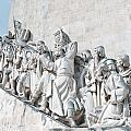 Discovery Monument Lisbon Portugal by Jim Chamberlain