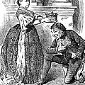 Disraeli Cartoon, 1876 by Granger