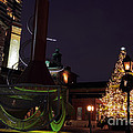 Distillery District Holiday Night by Charline Xia
