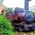 Do-00504 Train In Mar Mickael by Digital Oil