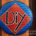 Do It Yourself Sign On Basket by Yali Shi