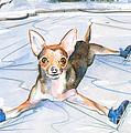 Dobby On Ice by P Anthony Visco