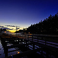 Dock At Lock 23 by Everet Regal