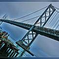 Dock By The San Francisco Bay Bridge by Blake Richards