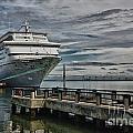 Docked Cruise Ship Three by Steve Nelson