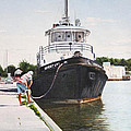 Docking  by Don  Goetze