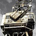 Dockside Crane by Jo