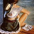 Dockside Daydreaming by Nancy M Garrett