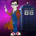 Doctor Who And Tardis by Lisa Leeman