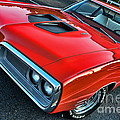 Dodge Super Bee In Red by Paul Ward