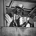 Dog On The Campaign Trail by Randall Nyhof
