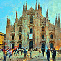 Dome In Milan by Yury Malkov