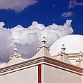 Dome Of The Mission San Xavier by Jon Berghoff