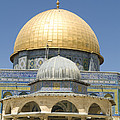 Dome Of The Rock Was Erected by Richard Nowitz