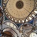 Domed Roof Of Rustem Pasa Mosque by Axiom Photographic