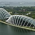 Domes Inside The Gardens By The Bay In Singapore by Ashish Agarwal