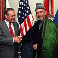 Donald H. Rumsfeld U.s. Sec. Of Defense by Everett