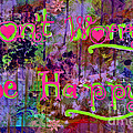 Dont Worry Be Happy II by Debbie Portwood