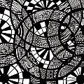 Doodle Circular  by Karen Elzinga