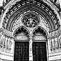 Doors To Saint John The Divine by Anne Raczkowski