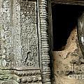 Doorway Ankor Wat by Bob Christopher