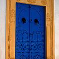 Doorway In Tunisia 2 by Bob Christopher
