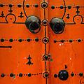 Doorway In Tunisia 6 by Bob Christopher