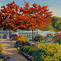 Dotti's Garden Autumn by Keith Burgess