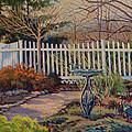 Dotti's Garden Winter by Keith Burgess