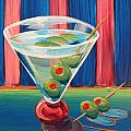 Double Dirty Martini by Michael Baum