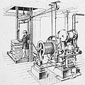 Double Oscillating Steam Engine by Science Source