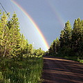 Double Rainbow by Susan Saver