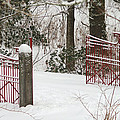 Double Red Iron Gates by Randy Harris