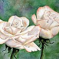 Double Roses by Lyn DeLano