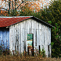 Down On The Farm - Old Shed by Kathy Clark