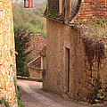 Down The Lane In Beynac France by Greg Matchick