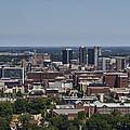 Downtown Birmingham Alabama by Kathy Clark