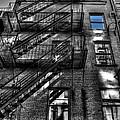 Downtown Blue Sky Dreams by Mark Valentine