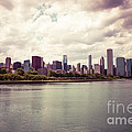 Downtown Chicago Skyline Lakefront by Paul Velgos