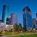 Downtown Houston by Olivier Steiner