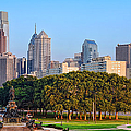 Downtown Philadelphia Skyline by Olivier Le Queinec