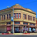Downtown Shiner Texas by David Morefield