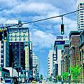 Downtown Union Ave Memphis Tn by Lizi Beard-Ward